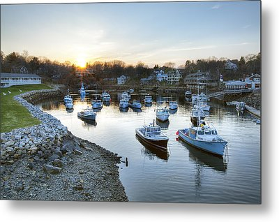 Perkins Cove Metal Print by Eric Gendron