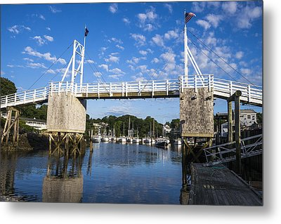 Perkins Cove - Maine Metal Print