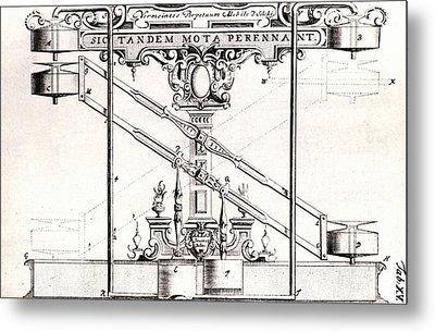 Perpetual Motion Machine Metal Print