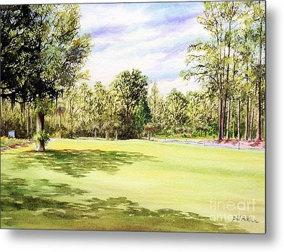 Perry Golf Course Florida  Metal Print by Bill Holkham