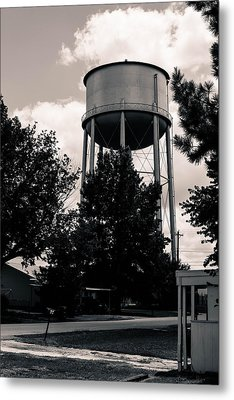 Perry Water Tower  Metal Print