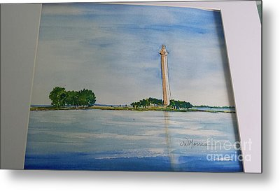 Perry's Monument Metal Print