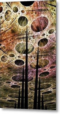 Perspective Lost Metal Print