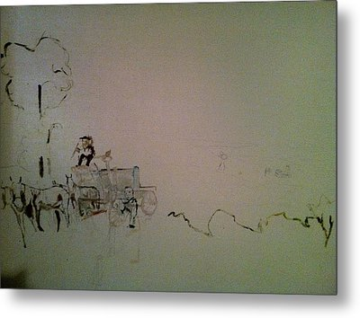 Perspective Metal Print by Mary Ellen Anderson