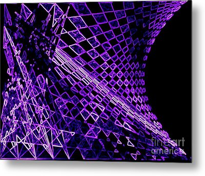 Perspectives Of Light Metal Print