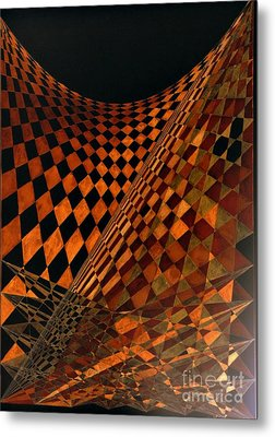 Perspectives Metal Print by Sylvie Leandre