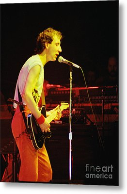 Pete Townsend Of The Who At Oakland Ca 1980 Metal Print