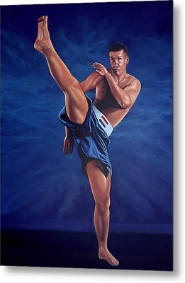 Peter Aerts  Metal Print by Paul Meijering