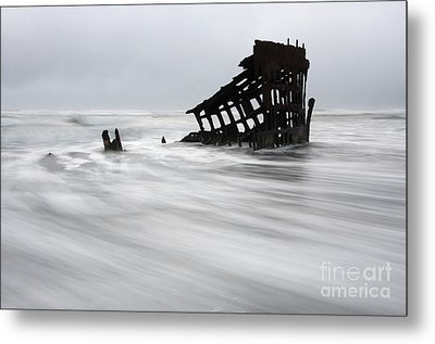 Peter Iredale Shipwreck Oregon 2 Metal Print