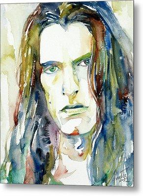 Peter Steele Portrait.4 Metal Print by Fabrizio Cassetta