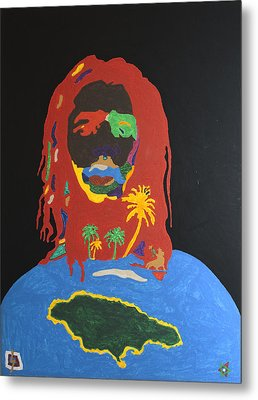 Peter Tosh Bush Doctor Metal Print