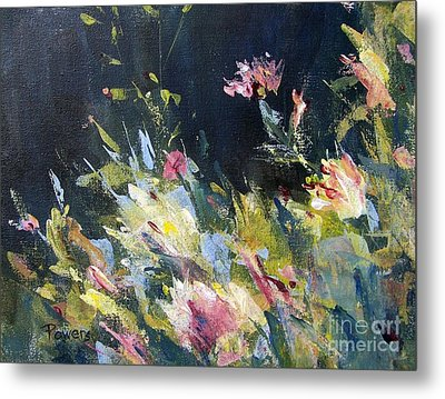 Metal Print featuring the painting Petite Bouquet by Mary Lynne Powers