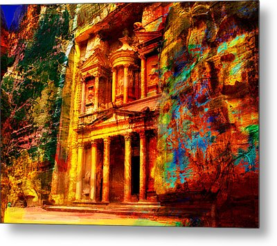 Petra Metal Print by Catf