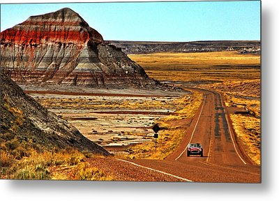 Petrified Forrest Highway-1964 Shelby 289 Cobra Metal Print