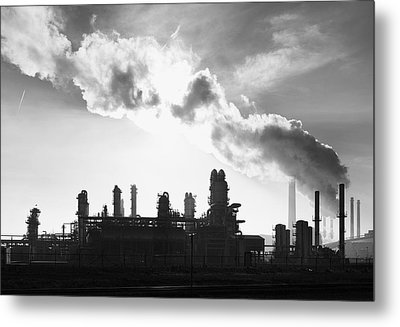Petrochemical Plant Metal Print by Hans Engbers