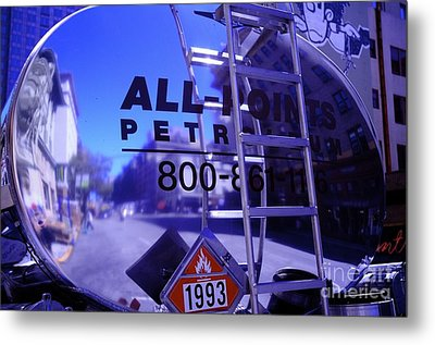 Metal Print featuring the photograph Petroleum Truck by Sherry Davis
