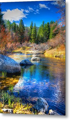 Metal Print featuring the photograph Pettengill Creek by Kevin Bone