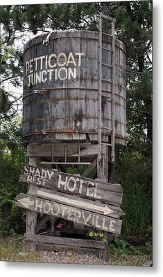 Petticoat Junction Metal Print by Kristin Elmquist