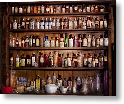Pharmacy - Pharma-palooza  Metal Print by Mike Savad
