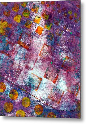 Phase Series - Picking Up The Pieces Metal Print by Moon Stumpp