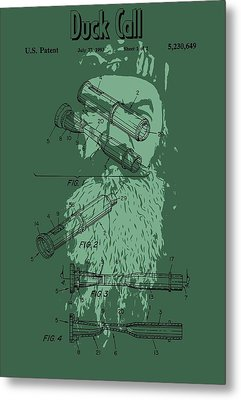 Phil Robertson Duck Call Legacy Metal Print