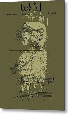 Phil Robertson's Duck Call Metal Print