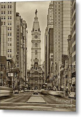 Philadelphia City Hall 2 Metal Print