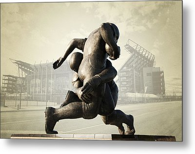 Philadelphia Eagles Metal Print by Bill Cannon
