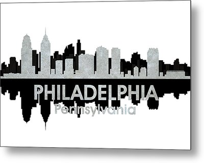 Philadelphia Pa 4 Metal Print by Angelina Vick