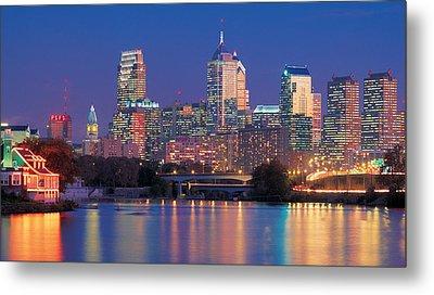 Philadelphia, Pennsylvania Metal Print by Panoramic Images