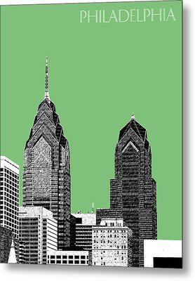 Philadelphia Skyline Liberty Place 2 - Apple Metal Print