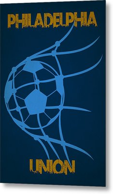 Philadelphia Union Goal Metal Print
