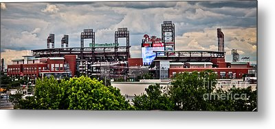 Phillies Stadium Metal Print