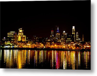 Philly Nights Metal Print by Bill Cannon
