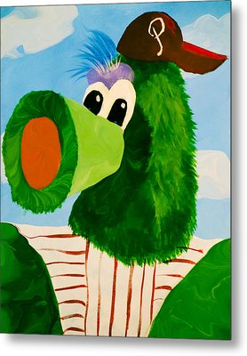 Philly Phanatic Metal Print by Trish Tritz