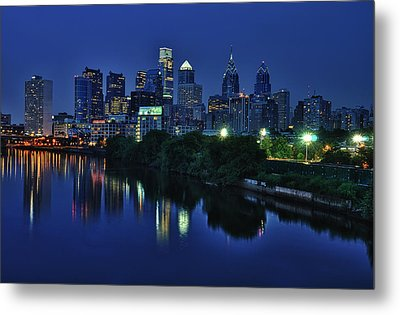 Philly Skyline Metal Print by Mark Fuller