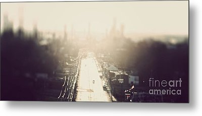 Philly Streets Metal Print by Kenny  Noddin
