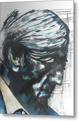 Philospher Jiddu Krishnamurti Metal Print by Chrisann Ellis