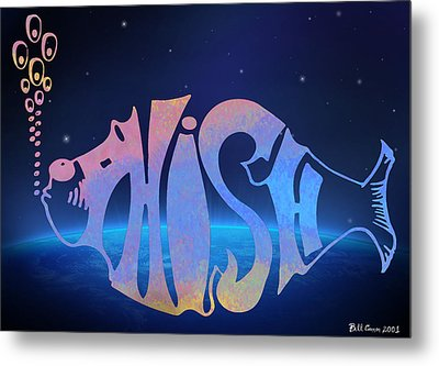 Phish Metal Print by Bill Cannon