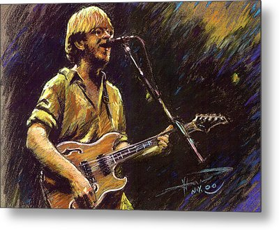 Phish Metal Print by Ylli Haruni