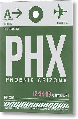 Phoenix Airport Poster 2 Metal Print