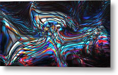 Metal Print featuring the digital art Phoenix by Richard Thomas