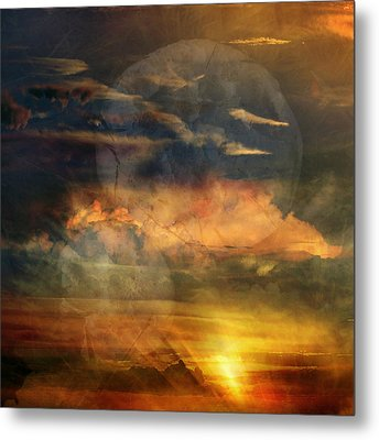 Phoenix Three Metal Print by Randal Bruck