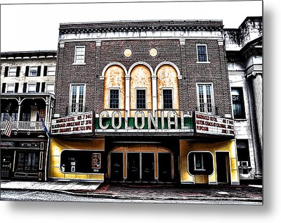 Phoenixville's Colonial Theater Metal Print by Bill Cannon
