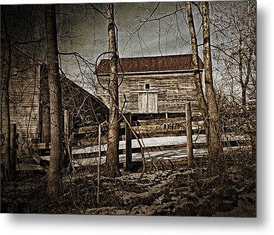 Country Barn Photograph Metal Print