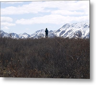 Photographing Nature   Metal Print