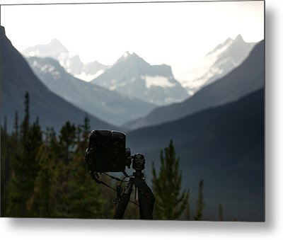 Photographing The Tonquin Valley Metal Print by Cale Best