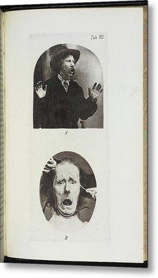 Photographs By Dr Duchenne Metal Print