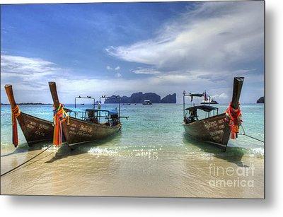 Phuket Koh Phi Phi Island Metal Print by Bob Christopher