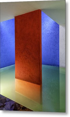 Physical Abstraction Metal Print